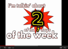 Song: I'm talking about the weekend | Recurso educativo 50327