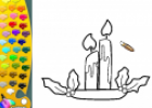 ¡A Colorear!: Velas | Recurso educativo 27865
