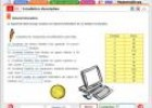 Estadística descriptiva. Introducción | Recurso educativo 838