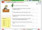Estadística descriptiva. Autoevaluación | Recurso educativo 844