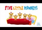 Five Little Monkeys! | Recurso educativo 112890